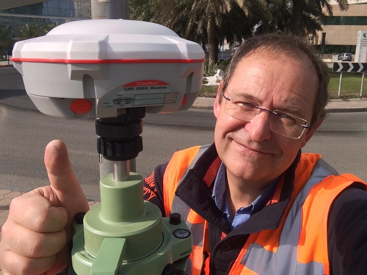 KUWAIT CITY GNSS CONTROL SURVEY