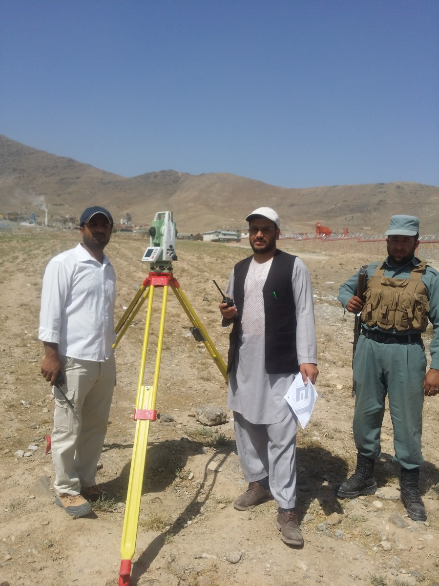Land Surveyors Afghanistan