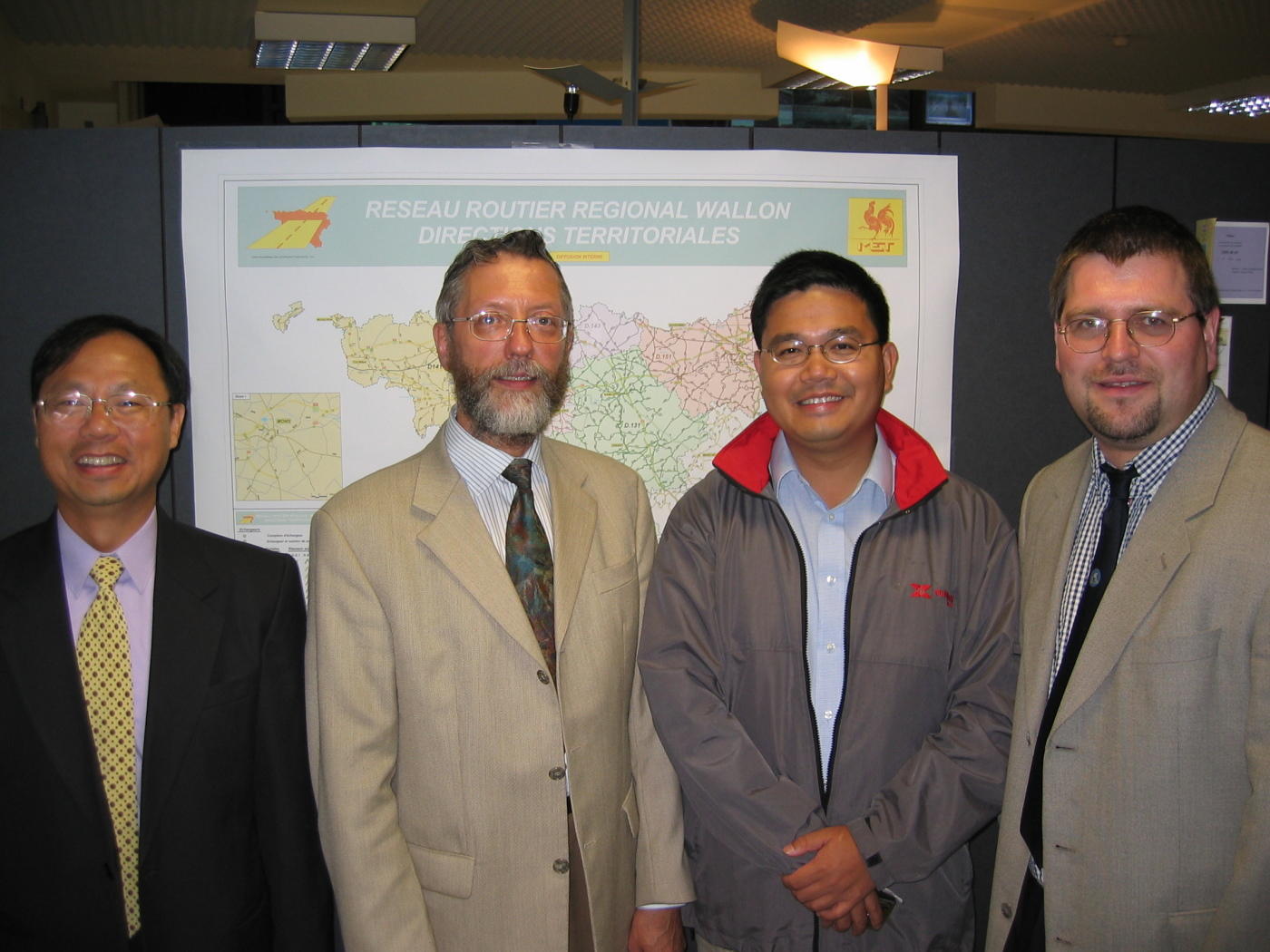 WALCORS (Belgium Wallonie) and HONG KONG Land Department