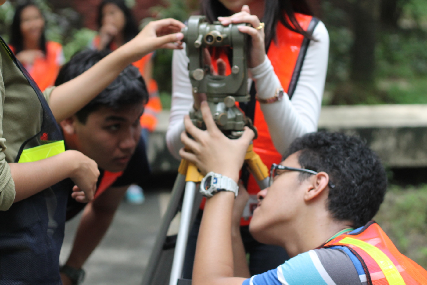 First time setting up a theodolite (2 years ago)