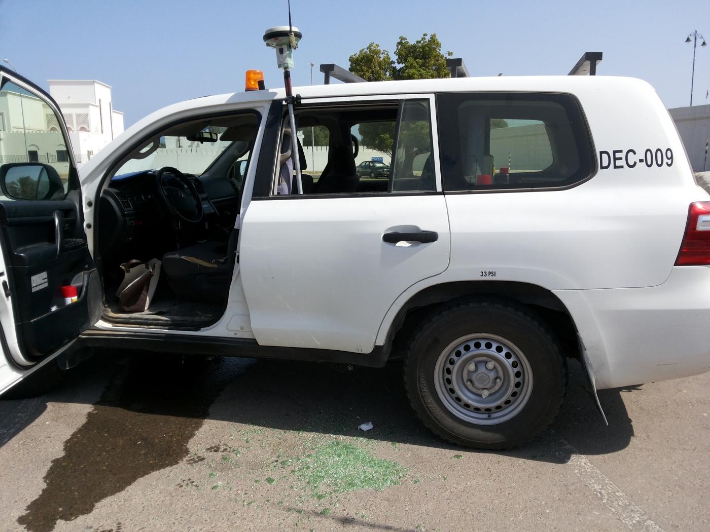 Leica Viva GPS accident