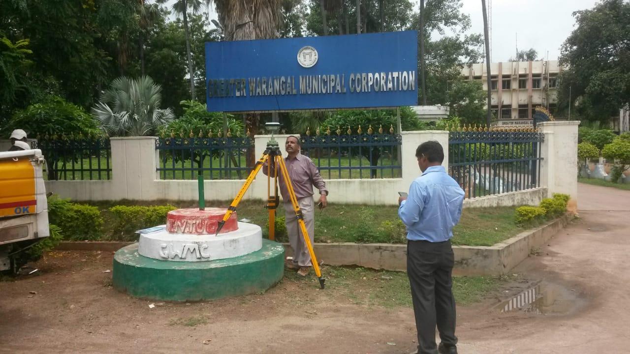warangal Telangana India smart city project survey