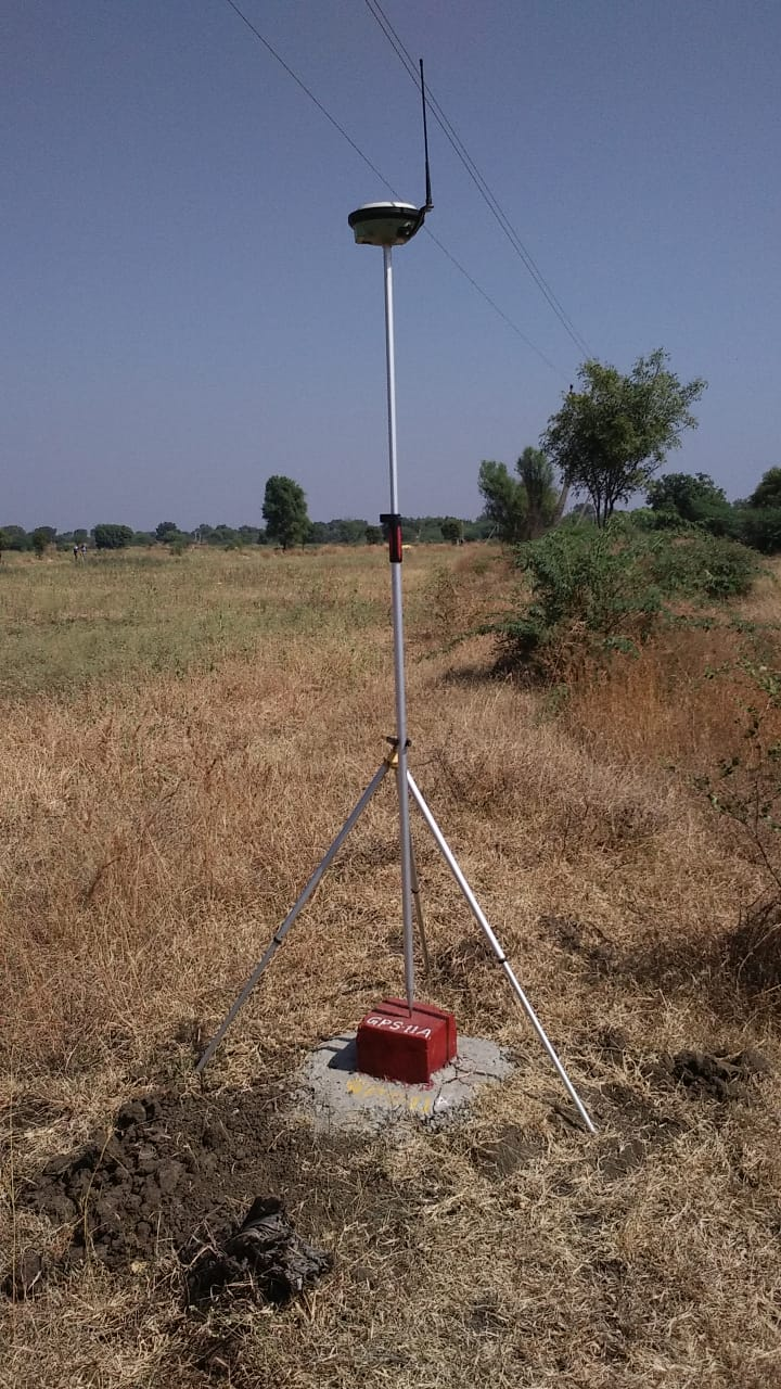 near nanded maharastra India Road project survey