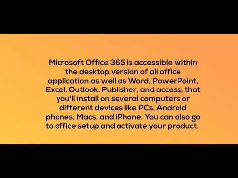 office.com/setup - MS Office Setup