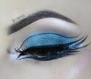 Metallic Blue Eyes