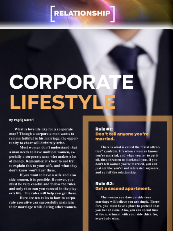 Corporate Lifestyle