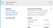 pago online advertisin