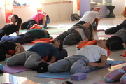 Yoga Nidra Session in Rishikesh India