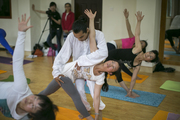 Hatha Yoga Art Of Adjustment in Rishikesh India