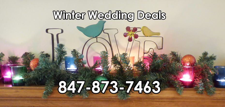 Winter Wedding Deal Chicago USA
