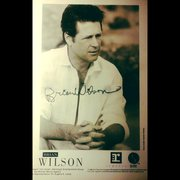 Brian Wilson signed 1988 publicity photo
