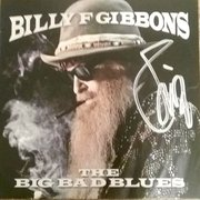 Billy Gibbons signed The Big Bad Blues CD