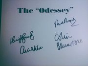 The Odessey signed book by The Zombies