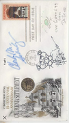 Triple signed FDC real or ? Suess Schulz Friz Freleng