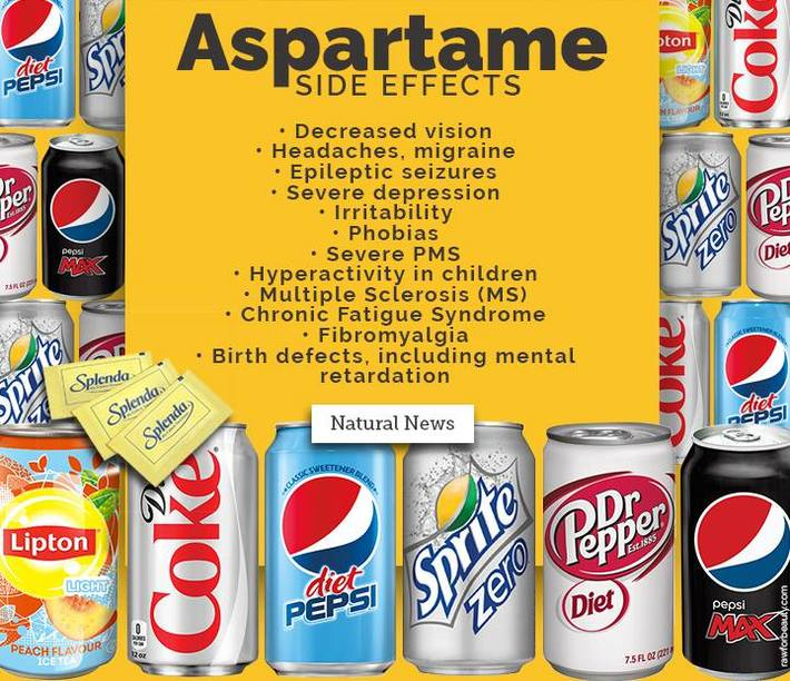 Aspartame is bad for you...