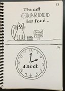 guarded, clock