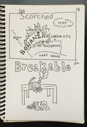 scorched, breakable