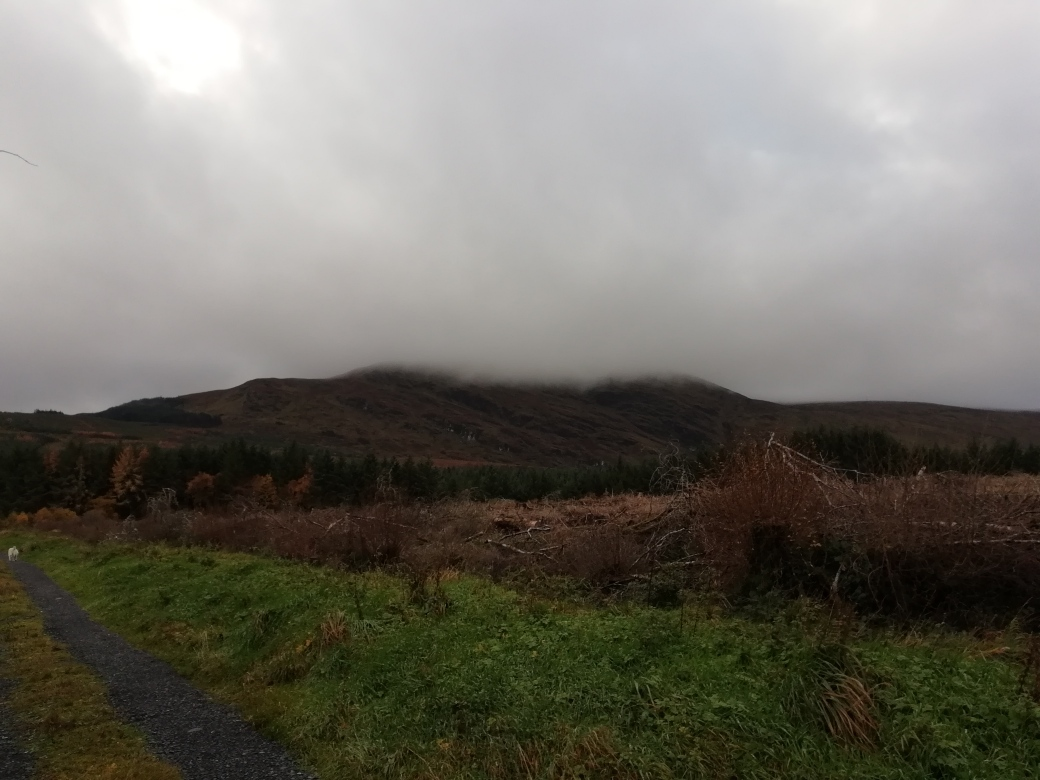 Mist coming down from Ladies Brae, Knockachree IMG_20181112_121403_resized_20181120_032242920