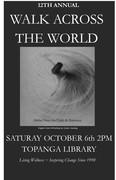 0 LWF WALK ACROSS THE WORLD 12th Annual Celebration w Rumi Art Cover Booklet 9-17-18