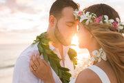 Wedding on the Beach in Oahu, Hawaii