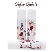Lip Balm Party Favors, Chapstick Labels
