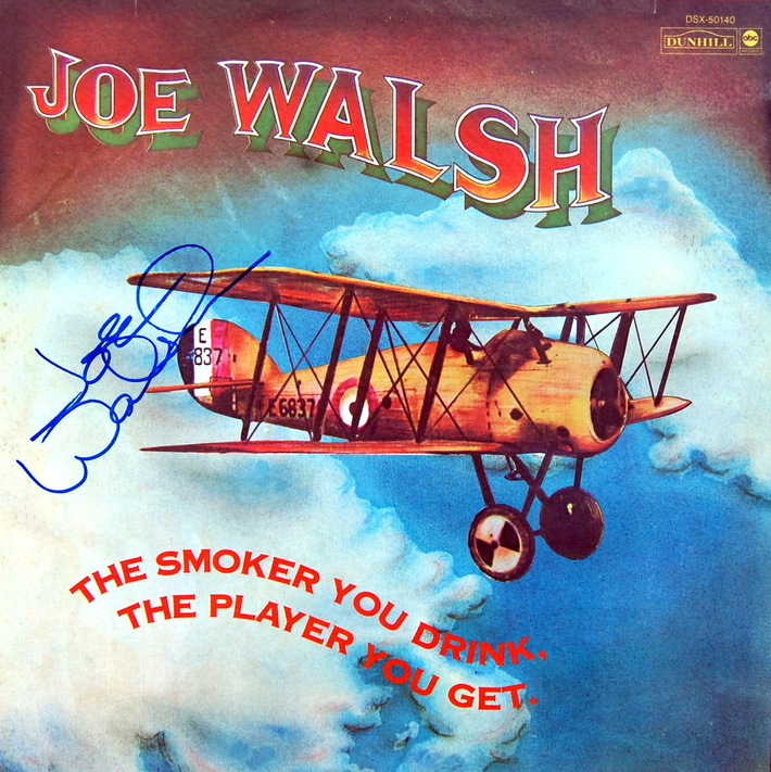 Joe Walsh Signed Album