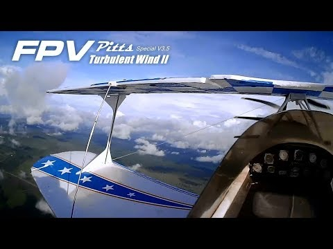 FPV Pitts Special - Turbulent wind II