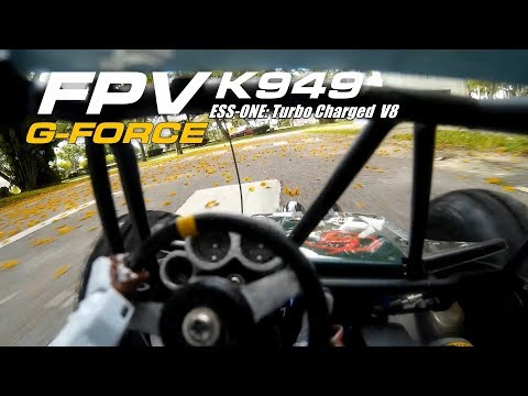 Ground drone: FPV K949 + ESS-ONE Turbo charged V8