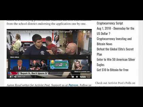 University Install Amazon Spy Device, Student Report Apps, Amazon 'Ring,' Golf Terrorists
