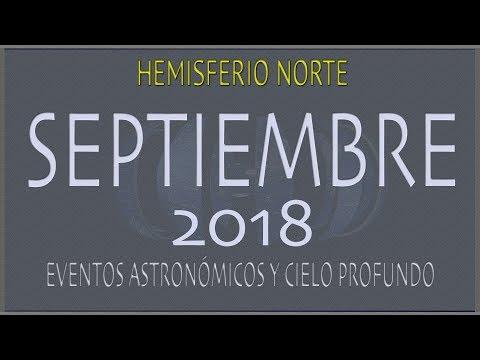 CIELO DE SEPTIEMBRE 2018. HEMISFERIO NORTE