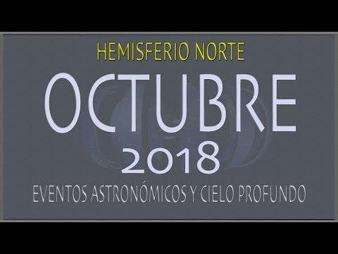 CIELO DE OCTUBRE 2018. HEMISFERIO NORTE