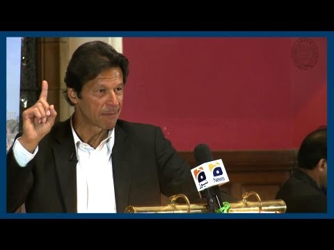 Advice on Leadership | Imran Khan | Oxford Union