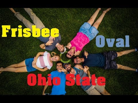 Frisbee at Oval   The Ohio State University
