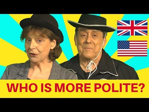 Are Brits or Americans more polite? Let's see!