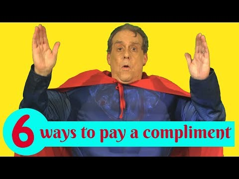6 ways to pay a compliment in English