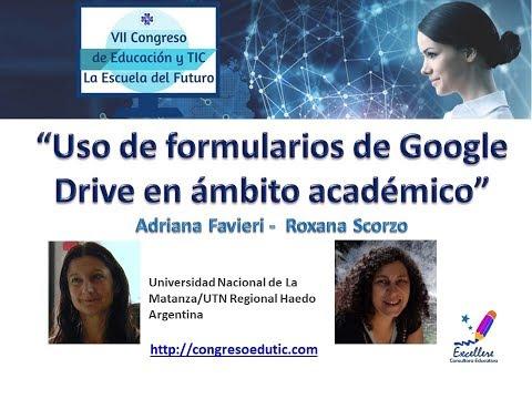 VII Congreso EduTIC Ponencia de Favieri y Scorzo