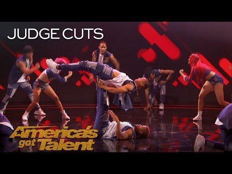 Da Republik: Dominican Republic Dance Group Delivers Epic Performance - America's Got Talent 2018