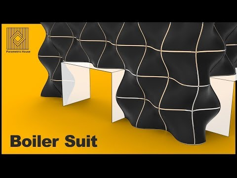 Rhino for Architecture : Boiler Suit