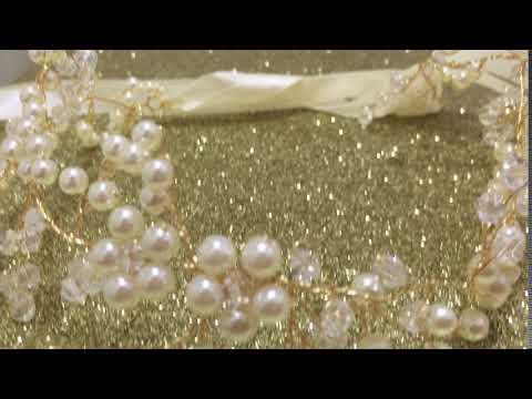 Fashion bridal wedding hairband