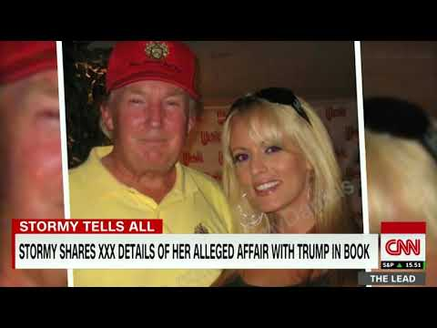 In Her New Book Stormy Daniels Shares Details Of Alleged Affair With Trump