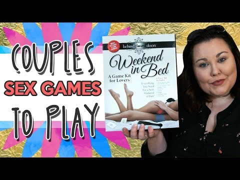 Couples Sex Games to Play | Weekend In Bed Lovers Bondage Kit