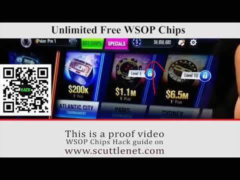 The Characteristics of Wsop Free Chips Hack