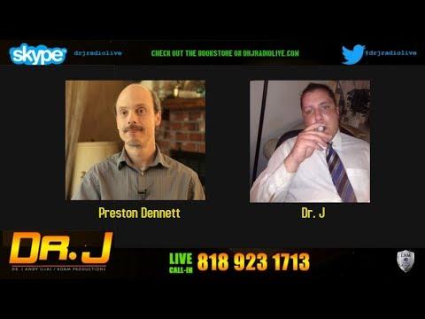 Dr. J Radio Live - Preston Dennett