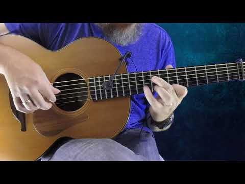 Yellow Wattle - Irish Guitar - DADGAD Fingerstyle Double Jig