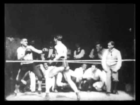 Corbett and Courtney Before the Kinetograph (1894) - 1st Filmed Sport (Boxing) - Dickson | Edison