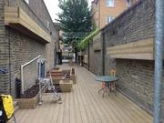 plant an edible alleway in Hackney Wick