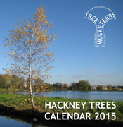 Buy Hackney Tree Calendars at Stoke Newington Farmers' Market