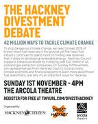 The Hackney Divestment Debate