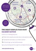 The Great Surplus Food Hunt - Hackney Edition