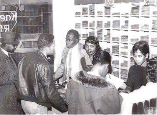 Kae Williams Sr.'s Record Store